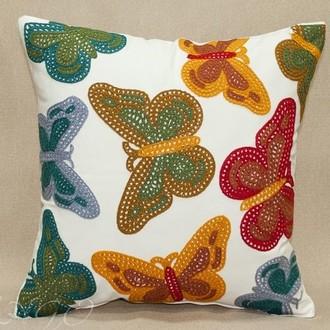Декоративная наволочка Tango BOMBAY 7034-07 хлопок-конопля