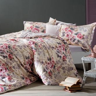 Комплект постельного белья Tivolyo Home CLEMENTINE хлопковый люкс-сатин