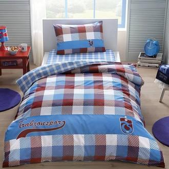 Комплект подросткового постельного белья TAC TRABZONSPOR EKOSE хлопковый ранфорс