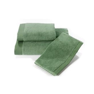 Набор полотенец для ванной в подарочной упаковке 32*50(3) Soft Cotton MICROSOFT хлопковый микрокоттон (зелёный)