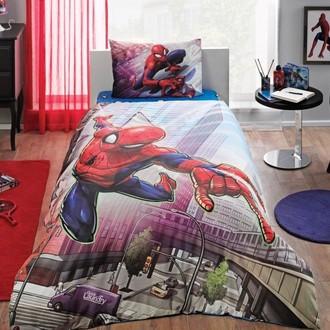 Комплект детского постельного белья TAC SPIDERMAN ACTION хлопковый ранфорс