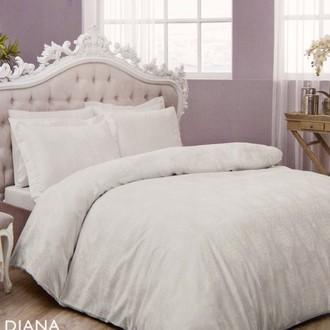 Комплект постельного белья TAC LUX DIANA хлопковый жаккард (бежевый)