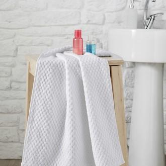 Полотенце для ванной Karna DAMA хлопковая махра (кремовый)