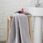 Полотенце для ванной Karna DAMA хлопковая махра серый 90х150, фото, фотография