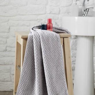 Полотенце для ванной Karna DAMA хлопковая махра (серый)