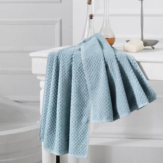 Полотенце для ванной Karna DAMA хлопковая махра (зелёный)