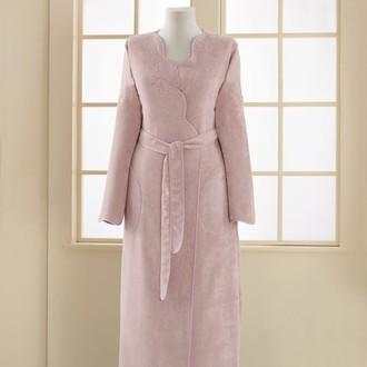 Халат женский Soft Cotton MELIS хлопковая махра (лиловый)