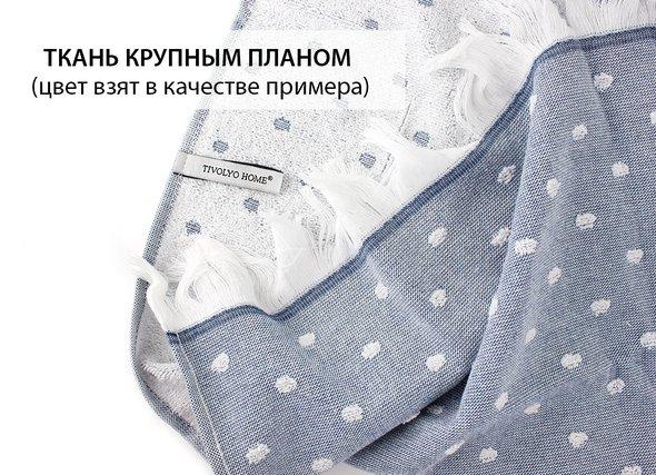 Кухонное полотенце Tivolyo Home DOTTY хлопок голубой 50*70, фото, фотография