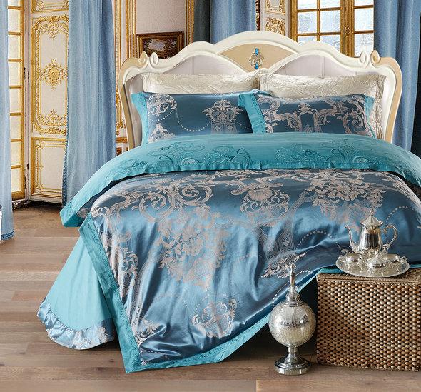 Комплект постельного белья Cristelle VENICE 12 сатин-жаккард евро, фото, фотография
