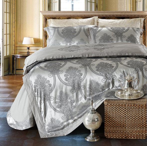 Комплект постельного белья Cristelle VENICE 24 сатин-жаккард евро, фото, фотография