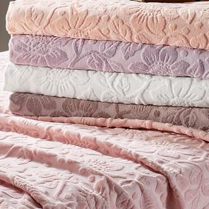 Полотенце для ванной Tivolyo Home CAMILLE хлопковая махра розовый 90х150