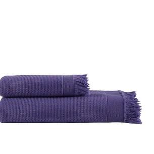 Полотенце для ванной и пляжа Buldan's SANTOS хлопок фиолетовый 90х150