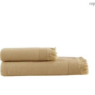 Полотенце для ванной и пляжа Buldan's SANTOS хлопок хаки