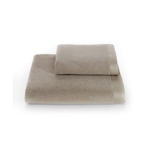 Полотенце для ванной Soft Cotton LORD хлопковая махра бежевый 85х150