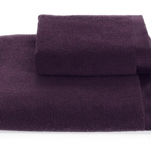 Полотенце для ванной Soft Cotton LORD хлопковая махра фиолетовый 85х150