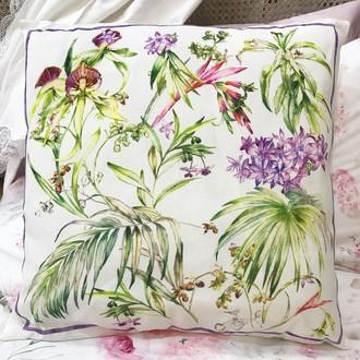 Декоративная подушка Tivolyo Home ORCHID хлопок