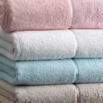 Подарочный набор полотенец для ванной 3 пр. Tivolyo Home FORZA хлопковая махра бирюзовый, фото, фотография
