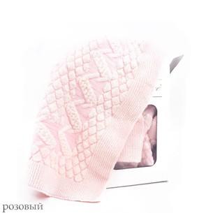 Плед детский для новорожденных Gelin Home YUMOS BEBE розовый 85х100