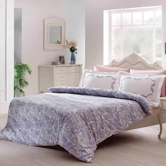 Комплект постельного белья Tivolyo Home FIESTA хлопковый люкс-сатин (розовый)