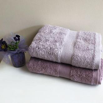 Полотенце для ванной Tivolyo Home TIVOLYO DUZ хлопковая махра (сиреневый)