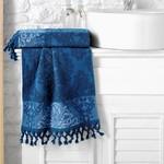 Полотенце для ванной Karna OTTOMAN хлопковая махра синий 50х90, фото, фотография