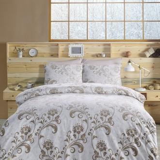 Комплект постельного белья Altinbasak LUCIAN хлопковый ранфорс (коричневый)