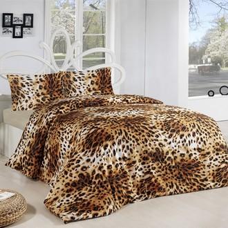 Комплект постельного белья Altinbasak LEOPAR хлопковый ранфорс (коричневый)
