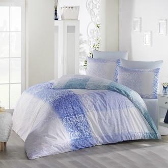 Комплект постельного белья Altinbasak ELFIN хлопковый ранфорс (голубой)