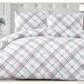 Комплект постельного белья Altinbasak ADONIS хлопковый ранфорс (зелёный)