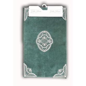 Набор ковриков Gelin Home HANZADE хлопковая махра (ментол)