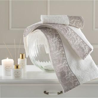 Подарочный набор полотенец для ванной 3 пр. Tivolyo Home ANAIS хлопковая махра