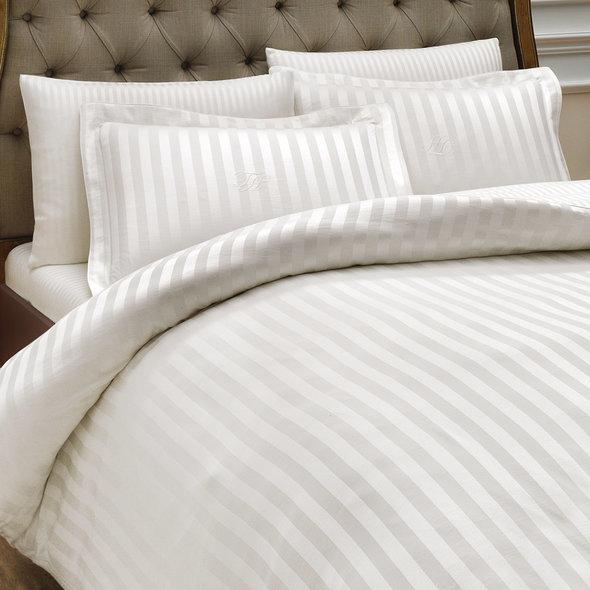 Комплект постельного белья Tivolyo Home NEW JACQUARD бамбуковый сатин-жаккард (кремовый) евро, фото, фотография