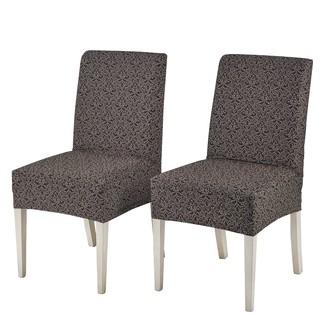 Набор чехлов на стулья 2 шт. Karna VERONA коричневый