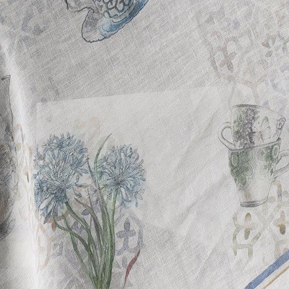 Скатерть прямоугольная Tivolyo Home VERONA жаккард 160х260, фото, фотография