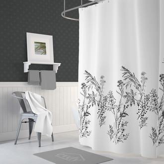 Штора для ванной Evdy DROP полиэстер (V21)