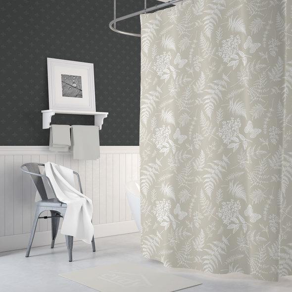 Штора для ванной Evdy DROP полиэстер (V22) 180*200, фото, фотография