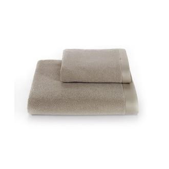 Набор полотенец для ванной 2 пр. Soft Cotton LORD хлопковая махра (бежевый)