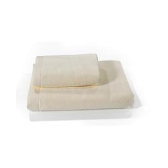 Набор полотенец для ванной 2 пр. Soft Cotton LORD хлопковая махра кремовый