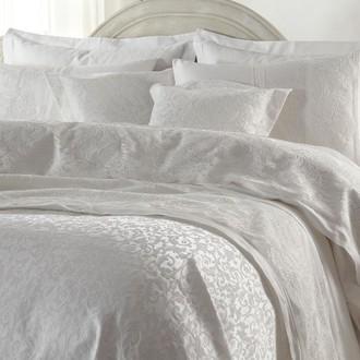 Постельное белье с покрывалом Gelin Home EMLAS хлопковый сатин делюкс (лиловый)