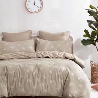 Комплект постельного белья Tango NATURE 19 хлопковый сатин-жаккард