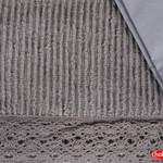 Постельное белье с покрывалом Hobby Home Collection NATURAL хлопковый поплин серый евро, фото, фотография
