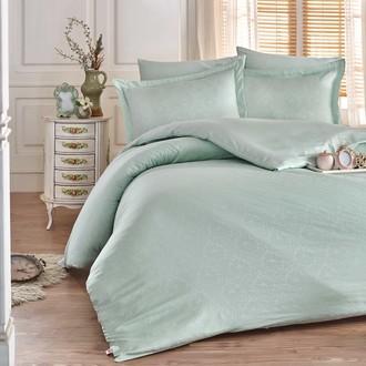 Комплект постельного белья Hobby Home Collection DAMASK сатин-жаккард (минт)