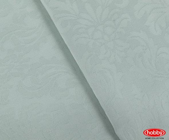 Постельное белье Hobby Home Collection DAMASK сатин-жаккард минт евро, фото, фотография