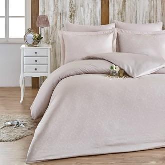 Комплект постельного белья Hobby Home Collection DAMASK сатин-жаккард (светло-бежевый)