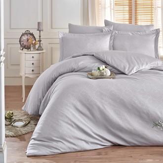 Комплект постельного белья Hobby Home Collection DAMASK сатин-жаккард (серый)