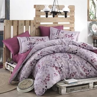 Комплект постельного белья Hobby Home Collection IRMA хлопковый сатин (лиловый)