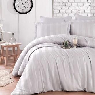 Комплект постельного белья Hobby Home Collection VALERIAN сатин-жаккард (серый)