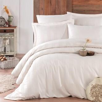 Комплект постельного белья Hobby Home Collection VALERIAN сатин-жаккард (тёмно-кремовый)