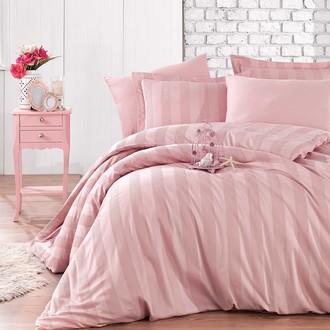 Комплект постельного белья Hobby Home Collection VALERIAN сатин-жаккард (пудра)
