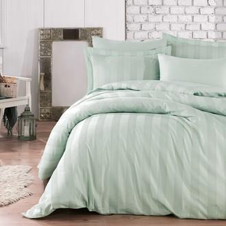 Комплект постельного белья Hobby Home Collection VALERIAN сатин-жаккард (минт)